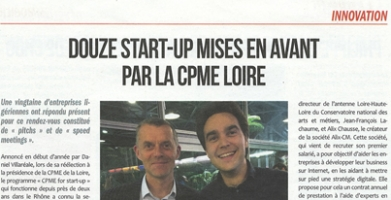 Douze start-up mises en avant par la CPME Loire